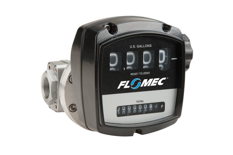 OM Series Mechanical Meters with Oval Gear Technology   FLOMEC