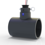 FLOMEC QS200-40 4-inch flow sensor is NSF-61 Certified for potable water